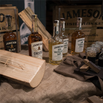Degustačný večer s whiskey Jameson